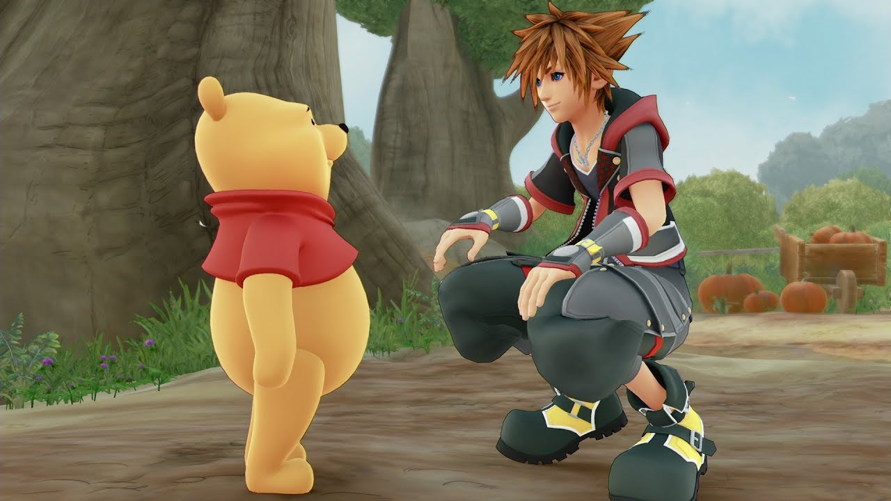 Image result for winnie the pooh kingdom hearts 3