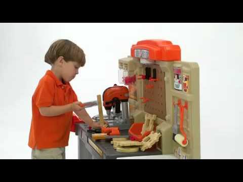 Step2 Home Depot® Master Carpenter Workshop