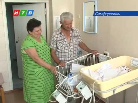 Первая российская тройня во втором роддоме Симферополя