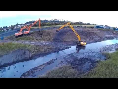 Annan Harbour dredging continues July 2015