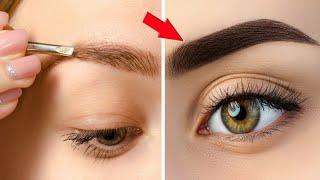रात में 2 बून्द लगालो Eyebrows इतनी काली लम्बी घनी हो जाएगी / Grow Thick Eyebrows Fast Naturally