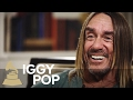 Iggy Pop on Album Post Pop Depression and Collab w Queens of The Stone Age Josh Homme | 59th GRAMMYs
