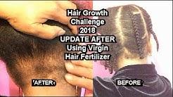 Virgin Hair Fertilizer WARNING!!  Broke My Hair OFF