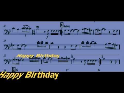 Happy Birthday for 4 Trombones - arr. Paolo Trettel