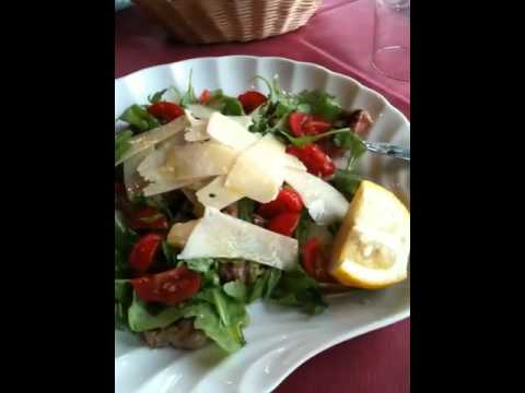 Sardegna, Palau, restaurant Acapulco, Tagliata a rukkola