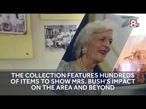 Barbara Bush remembered at Kennebunkport's First Families Museum