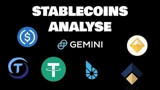 Stablecoins Analyse - Tether, TrueUSD, USDCoin, Digix, Dai und mehr! Lohnt sich ein Investment?