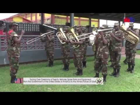UNITED STATES (US)  DONATES TO ARMED FORCES OF LIBERIA (AFL)