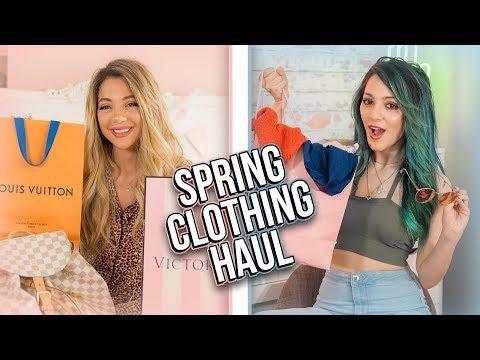 Spring Clothing Haul 2018 🌸Niki and Gabi