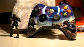 Xbox 360 Limited Edition Halo 3 Wireless Controller Unboxing
