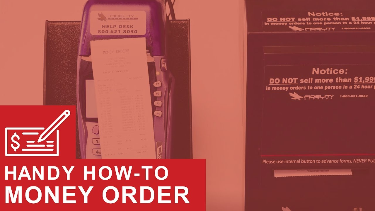 Printing a Money Order Report