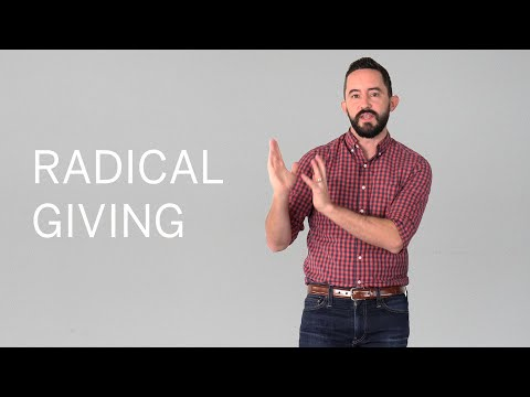 Freely Give // Radical Giving
