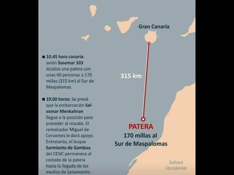 Tan lejos de Canarias y tan cerca de África y sin embargo....