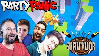 SURVIVOR-WIPE OUT-MACERA MODU! | EKİPLE PARTY PANIC (furkanyamanhd-gereksizoda-ümidi)