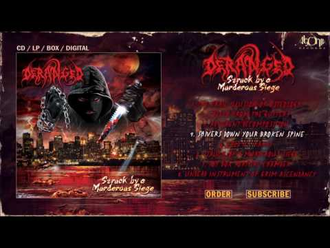 DERANGED - Shivers Down Your Broken Spine (Official Track Stream)