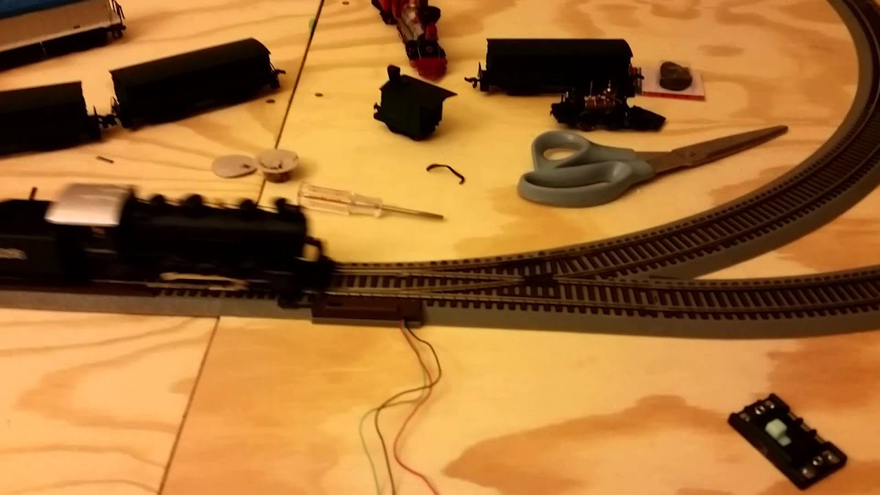 Ho Train Track Wiring On Utube How To Solder And Install Model Railroad Day 1 Atlas Turnout Problems Youtube