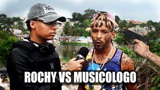 Me Meti Para lo mas profundo de GUALEY ! ROCHY VS MUSICOLOGO ! ENCUESTA EN BARRIO CALENTON !