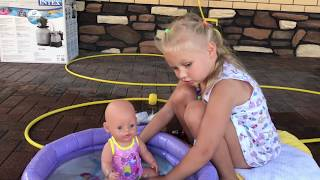 Cry baby Dolls  ! Pretend Play with toys for kids