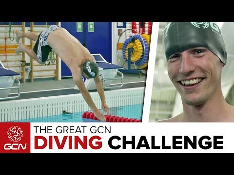 The Great GCN Diving Challenge | Lessons From Global Triathlon Network