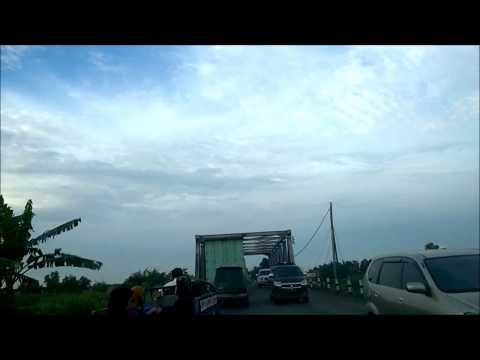 Situasi Lintas Indralaya-Palembang (2)
