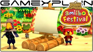 Animal Crossing: amiibo Festival - FULL Round of Desert Island Escape
