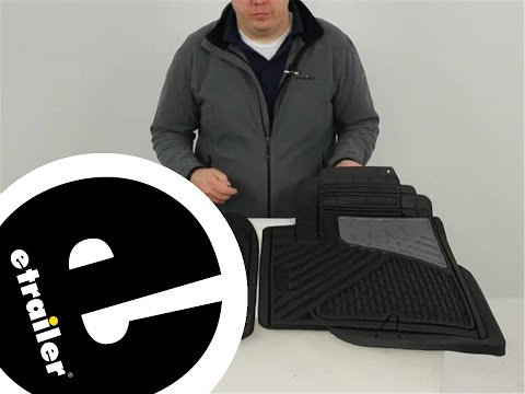 Front//Rear Rubber WeatherTech W36TN-W20TN Floor Mat