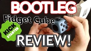 The BOOTLEG Fidget Cube REVIEW!! (and teardown)