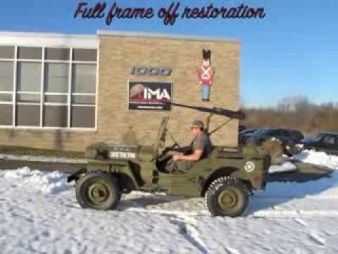 Original WW2 1943 FORD GPW JEEP- Offered for sale at ima-usa.com