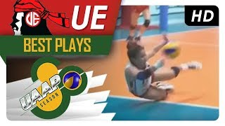 UAAP 80 WV: Kath Arado shows heart after rising back up from a bad fall | UE | Best Plays