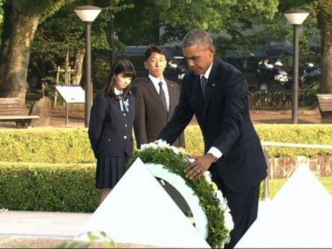 Barack Obama la Hiroshima