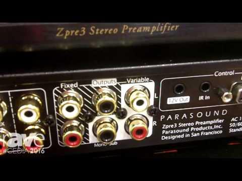 CEDIA 2016: Parasound Highlights the Zpre3 Stereo Preamplifier