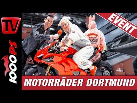 Motorräder Dortmund 2019 - alle Highlights - Durch die Motorradmesse in den Westfalenhallen mit Mex