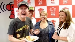 Donna Hay Rates Nathan's Fav Sausage Roll
