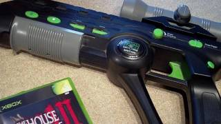 Massive Silent Scope Sniper Rifle/Shotgun Light Gun for Xbox - Unboxing and Review
