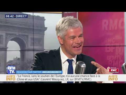 Laurent Wauquiez, invité de Jean-Jacques Bourdin sur BFMTV