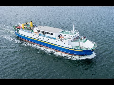 Shipsforsale Sweden double ended passenger ferry Solsund for sale.