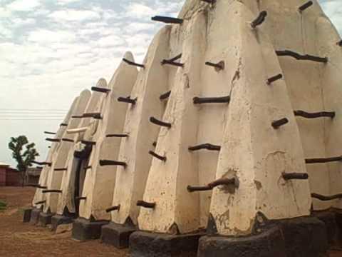 The oldest mosque in Ghana at Larabanaga village