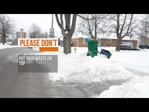 City of Kingston - Winter Waste Placement