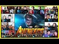 Avengers Infinity War Trailer Reactions Mashup