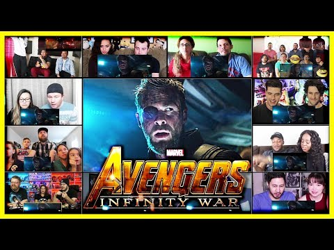 Avengers Infinity War Trailer Reactions Mashup