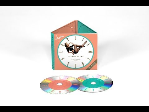 Kylie Minogue - Step Back In Time The Definitive Collection CD Unboxing Mp3