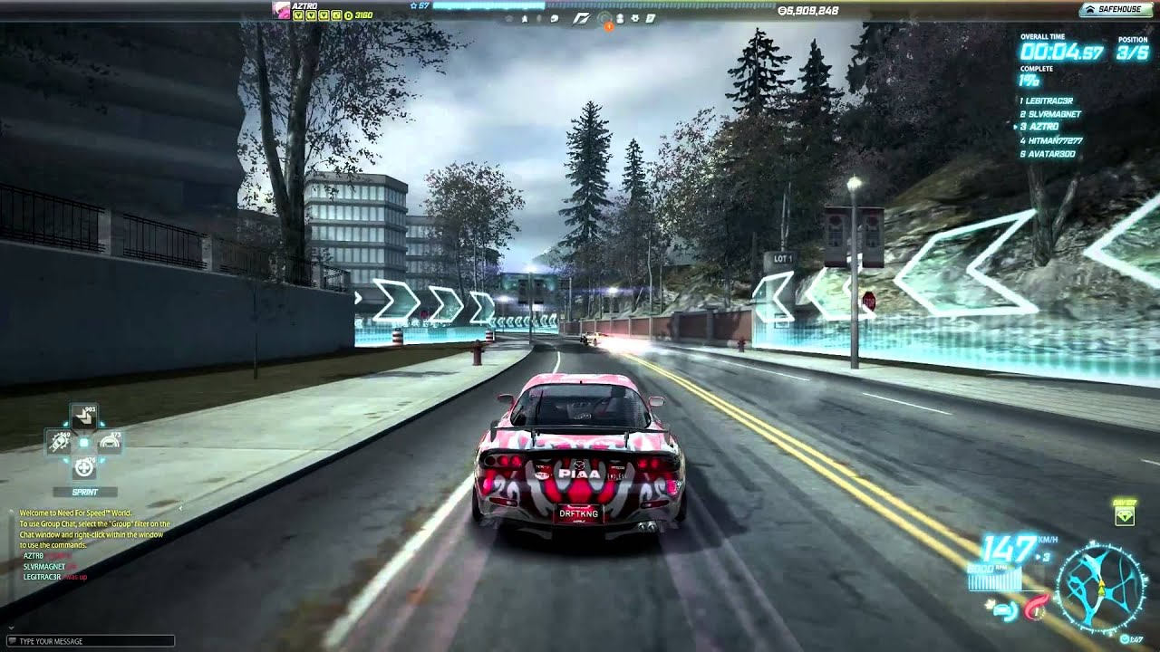 Hd Nfs Cars Wallpapers Need For Speed World Mazda Rx 7 Rz Quot Drift King Quot Youtube