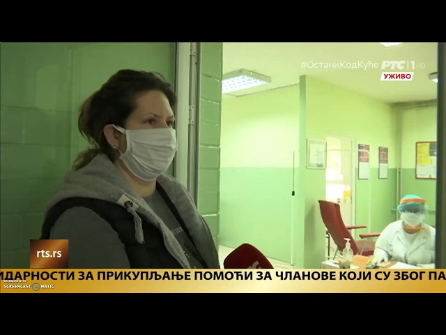Corten Art - Donacija dezinfekcionog tunela Domu zdravlja u Šapcu - Ovo je Srbija 6.5.2020. RTS