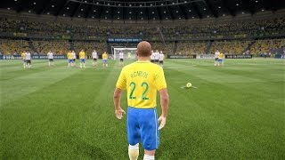 FIFA 17 ROBERTO CARLOS INSANE FREE KICK GOALS COMPILATION