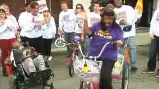 Surprise at Bicycle Giveaway 2013 | Gordon McKernan Injury Attorneys