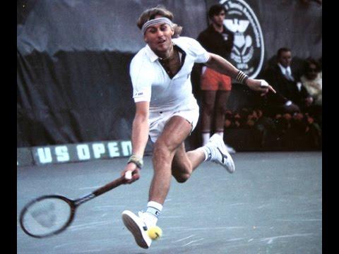 1981 Seiko World Tennis 1st Bjorn Borg vs Ramesh Krishnan