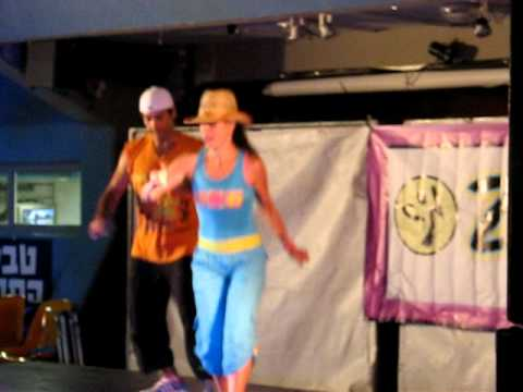 Zumba - Cotton Eyed Joe by Hila Gur and the amazing Israeli ZES - Mario !