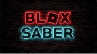 Roblox blox saber, (rude by eternal youth) 100% score!