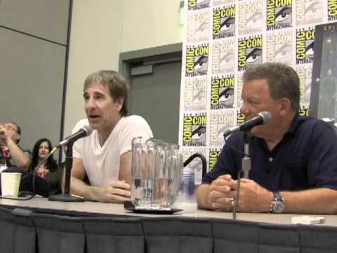 William Shatner And The Captains Of Star Trek: Comic Con #SDCC 2011