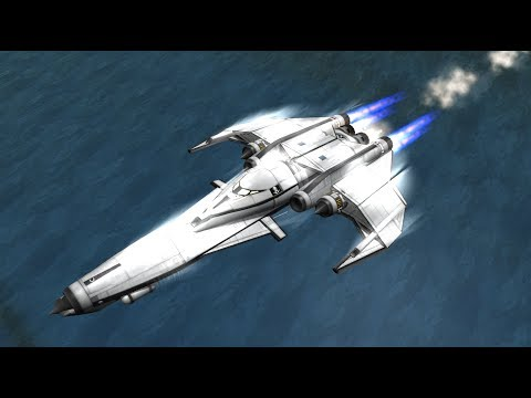 Completing Contracts with a Space Plane and a Starship in KSP